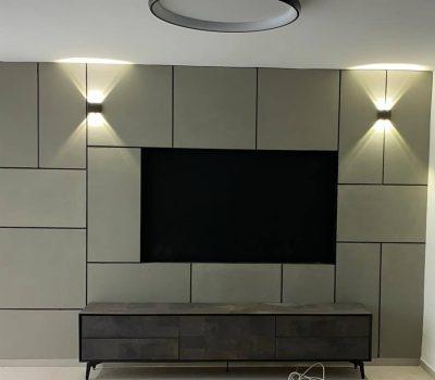קיר בטון טלוויזיה